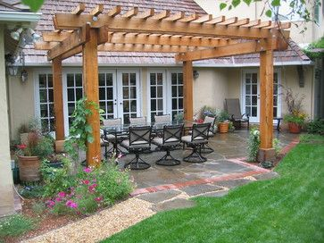 Patio Pergola Idea
