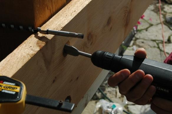 Setting girders 14