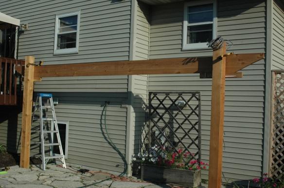 Setting girders 2