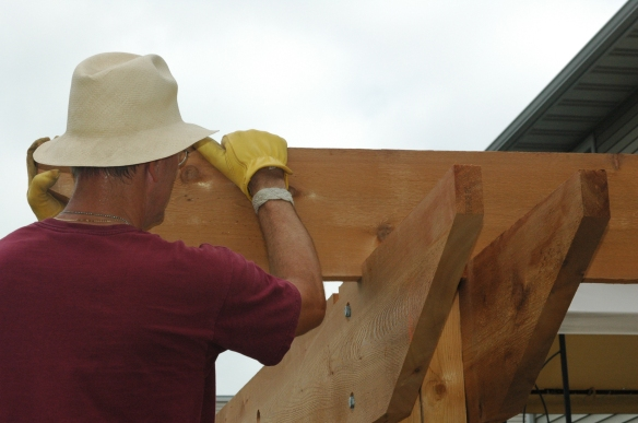 Setting rafters 2