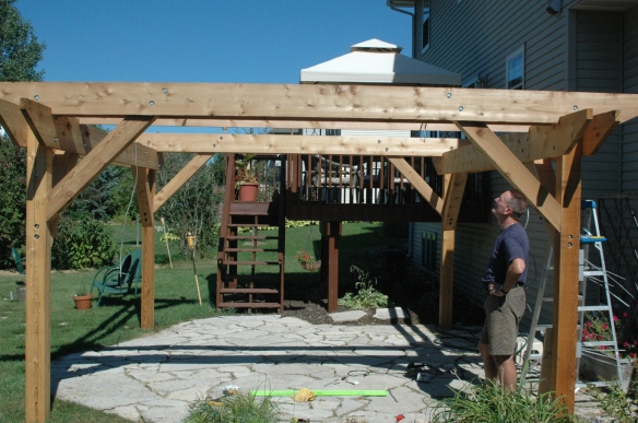 Setting rafters 6