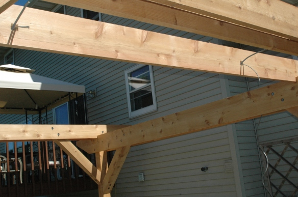 Setting rafters 7